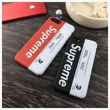 SUPREME Branded Fashion Case New Design for iPhone 5 5S SE FREE Cable