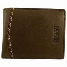 Country Roots CY9420 Bifold Leather Wallet Brown)