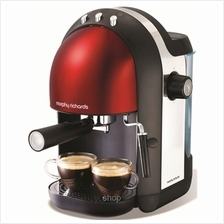 Morphy Richards Accents Espresso Maker Red - 172002)