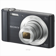 Sony 20.1 Mega Pixel W Series 6x Optical Zoom Cyber Shot Black - W810/)