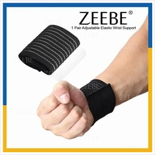 ZEEBE 1 Pair Elastic Bandage Wound Compression Wrist Support Brace
