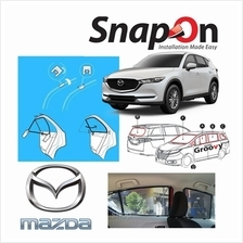 Groovy Mazda SUV SNAP-ON 4.0 (MAGNET) Car Sunshades