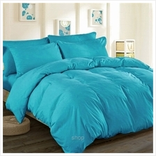 Cozzi Microfiber Plush Fitted Comforter Bedsheet Set Blue)