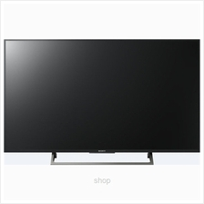 Sony 49 Inch X80E LED 4K Ultra HD High Dynamic Range Smart TV - KD-49X)