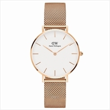Daniel Wellington Classic Petite Melrose 32mm Women Watch Rose Gold White - 15)
