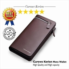 PU Leather Wallet Coffee Brown