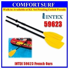 Intex 59623 Two 48-inch French Oars Inflatable Boat Rafts Paddles