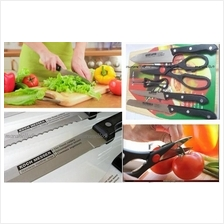 Portable Lightweight Picnic / Kitchen 6 Piece German Style Knife Set