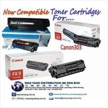 HP2612A/ Canon 303/ FX9 Compatible Toner cartridges