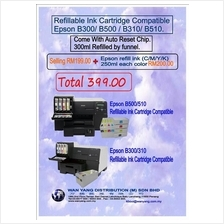B300/ B500 / B310/ B510-Compatible Epson.Refillable Ink Cartridge