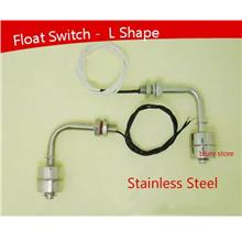 Water Level Sensor Float Switch - L shape -stainless steel