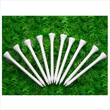 Golf Tee in a Bulk - White/Brown Color -  100 pcs - Free Shipping from