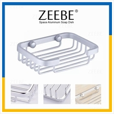 ZEEBE Bathroom & Kitchen Shower Soap Dish Holder Toilet