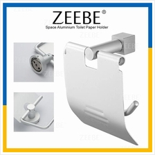 ZEEBE Space Aluminium Toilet Tissue Paper Roll Holder