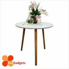 Scandinavian Style Round Side Table / Coffee Table / Sofa Side Table -