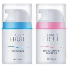 Pure Fruit Hair Removal and Whitening Set