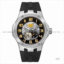 Caterpillar CAT Watches A8.148.21.111 NAVIGO Auto Silicone Strap Black