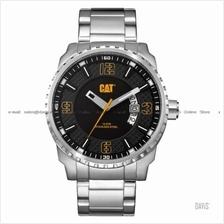 Caterpillar CAT Watches AC.141.11.121 MOSSVILLE Date SS Bracelet Black