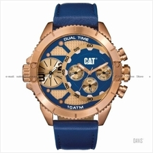 Caterpillar CAT Watches DV.199.36.639 DUAL TIMER Leather Blue Rose