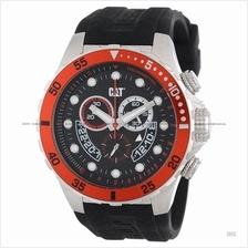 Caterpillar CAT Watches YN.143.21.128 P52 SPORT Chrono Silicone Black