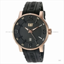 Caterpillar CAT Watches NJ.191.21.139 BOLD Date Silicone Black Rose