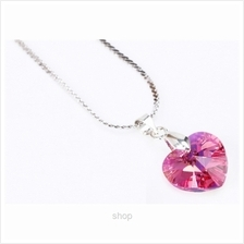 Celovis M Love Series Heart Shape made with Swarovski® Crystal Necklace)