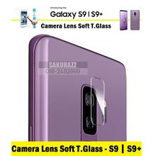 Camera Lens Soft Tempered Glass for Samsung Galaxy S9 Plus (HD Clear)