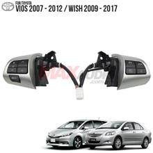 TOYOTA WISH 2009 - 2018 Plug and Play Multimedia Steering Control