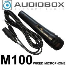 Original Audiobox M100 Wired Microphone KTV Karaoke - Awesome Audio