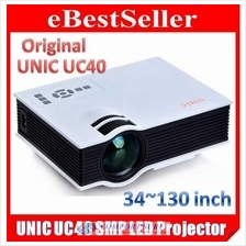 UNIC Projector UC40+ Home Theater Cinema Upto 130' 800 Lumens ORIGINAL