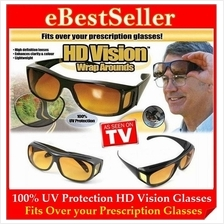 FREE GIFT + HD Vision Wrap Around Max Protection Driving Sunglasses