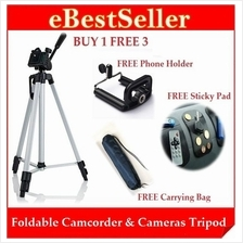 KETAI Foldable Camcorder & Camera Tripod wf 3 Free GIFTS GIVEN!
