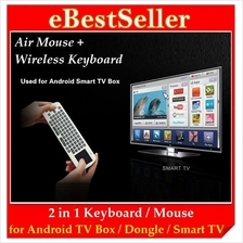 Measy RC12 Wireless Air Fly Mouse/Keyboard Smart Android TV Box RC11