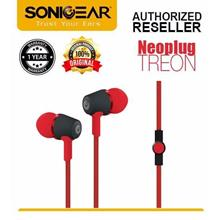 Sonic Gear SonicGear NeoPlug Treon Earset Earphone with Mic - Original