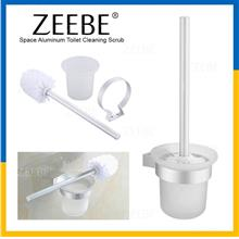 ZEEBE Wall Mounted Bathroom Tub Tile Toilet Cleaning Scrubber Brush