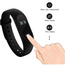 100% Authentic XIAOMI Mi Band 2 Touch Screen OLED Display Wristband