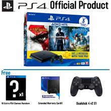 PS4 Slim 500Gb MultiPlayer HITS Bundle V1 (2 Years Sony Malaysia Warra