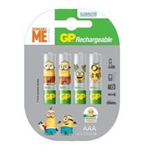 GP Rechargeable Battery NIMH AA / AAA (MINIONS))