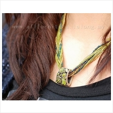 YN-4177	Vintage Fashion Fine Jewelry Bohemian Necklace Original Weave )