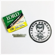 Lord Saloon Super Stainless Steel Blades 100 pcs