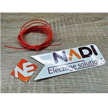 Orange 2 Meter Multicore Copper Wire AWG-24
