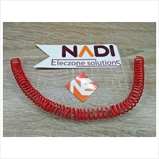 Red 2M Single Core Hard Wire Copper 0.5mm Electronic Wire