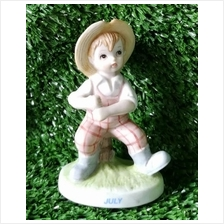 PORCELAIN HAND PAINTED DECORATION STATUE ANIMALS GIFT SS067