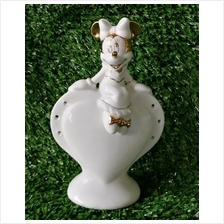 PORCELAIN HAND PAINTED DECORATION STATUE ANIMALS GIFT SS074