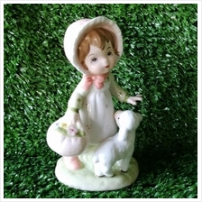 PORCELAIN HAND PAINTED DECORATION STATUE ANIMALS GIFT SS078