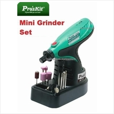 Pro's Kit Wireless Rechargeable Mini-Grinder Set with Charger Stand