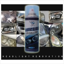 Car Headlight Restoration UV Spray Kit