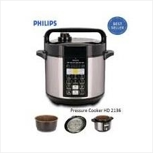 Original Philips HD2136 Pressure Cooker Electric 5.0L