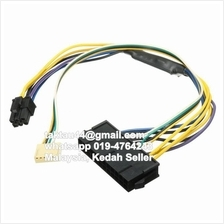 ATX PSU Power Cable 24P to 6P for HP Z220 Z230 SFF Mainboard Server