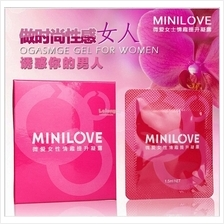Minilove Women Orgasmic Sex Play Gel 1.5ml 1pc Gel Perangsang Wanita